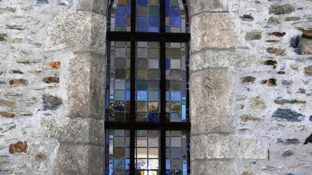 Vitrail de L'ermitage Saint Gerbold de Gratot