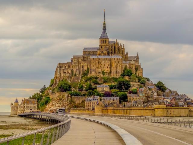 Mont Saint Michel en Normandie