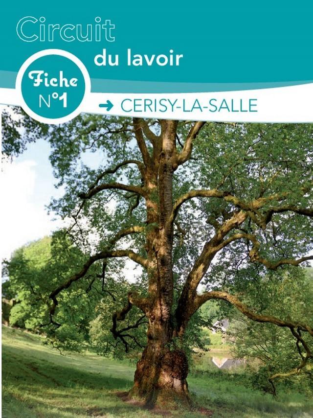 Couverture de la fiche de randonnée n°1 de Cerisy la Salle