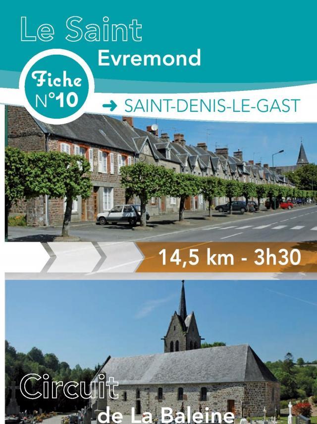 Fiche 10 Saint Denis Le Gast randonnée de Coutances Tourisme