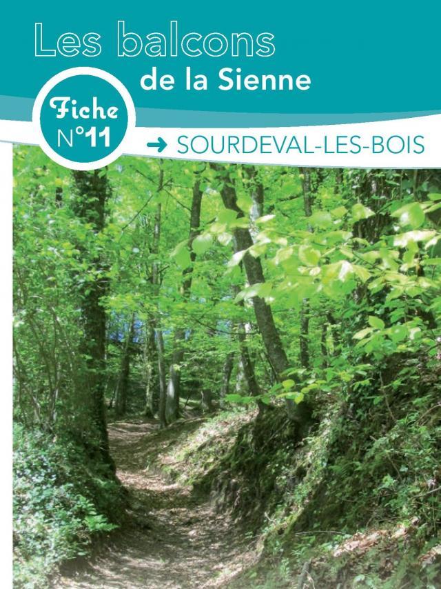 Fiche 11 Sourdeval Les Bois des circuits de randonnée de Coutances Tourisme