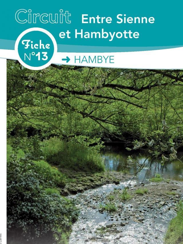 Fiche 13 Hambye Des randonnées de coutances tourisme
