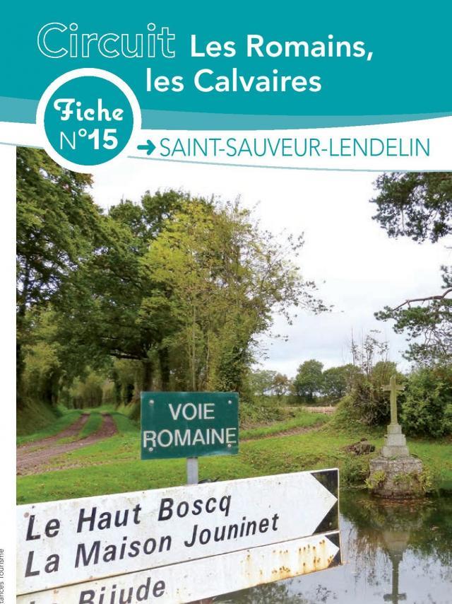 Fiche 15 Saint Sauveur Lendelin des fiches de randonnées de Coutances Tourisme