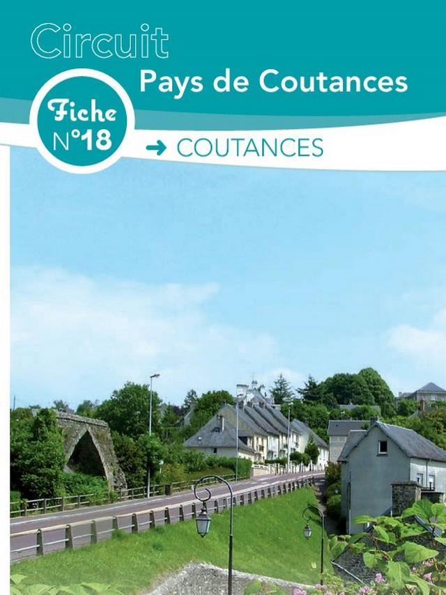 Fiche 18 Coutances des circuits de randonnée de Coutances Tourisme