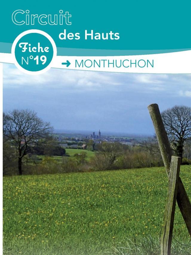 Fiche 19 Monthuchon des circuits de randonnée de Coutances Tourisme