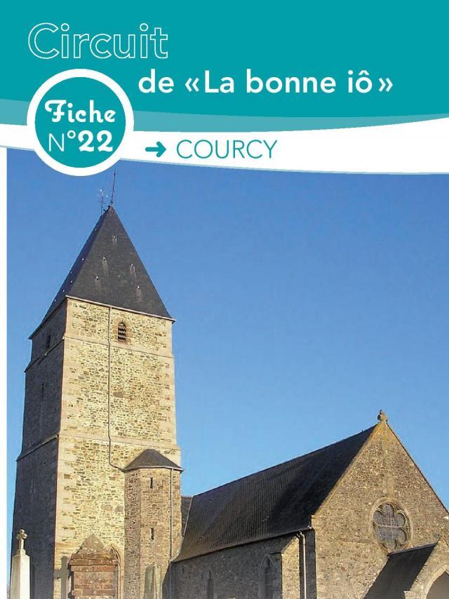 Fiche 22 Courcy des randonnées de Coutances Tourisme