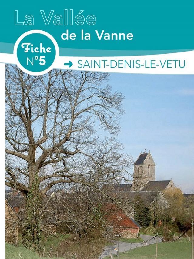 Fiche n°5 de ranconnée de Coutances Tourisme à Saint Denis le Vetu