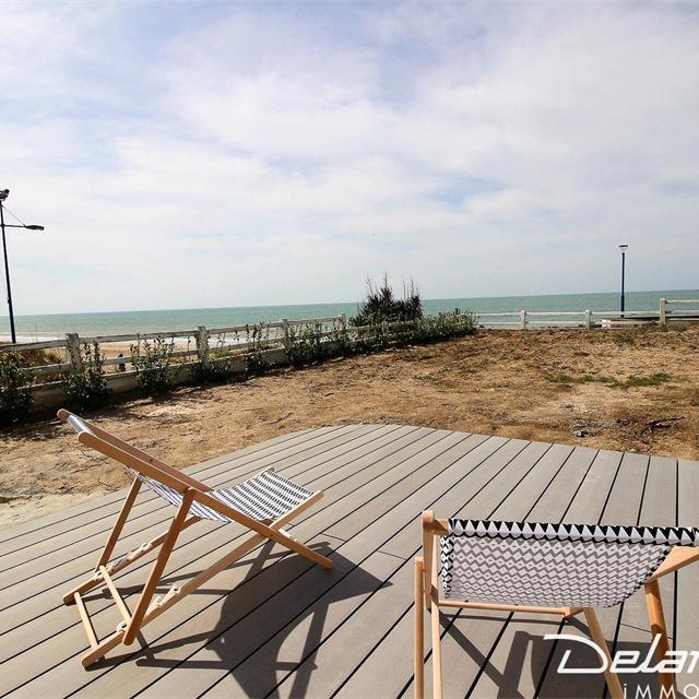 Gîte Hauteville Sur Mer face à la mer