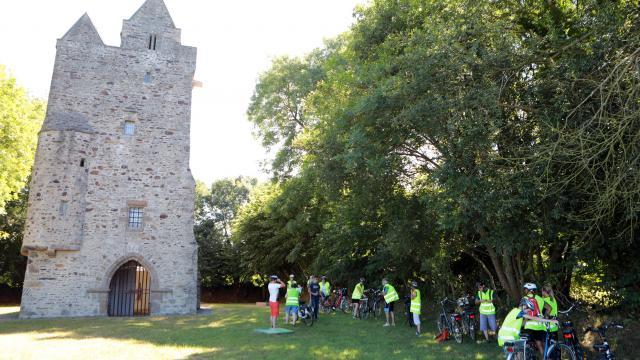 Vélos à L'ermitage Saint Gerbold
