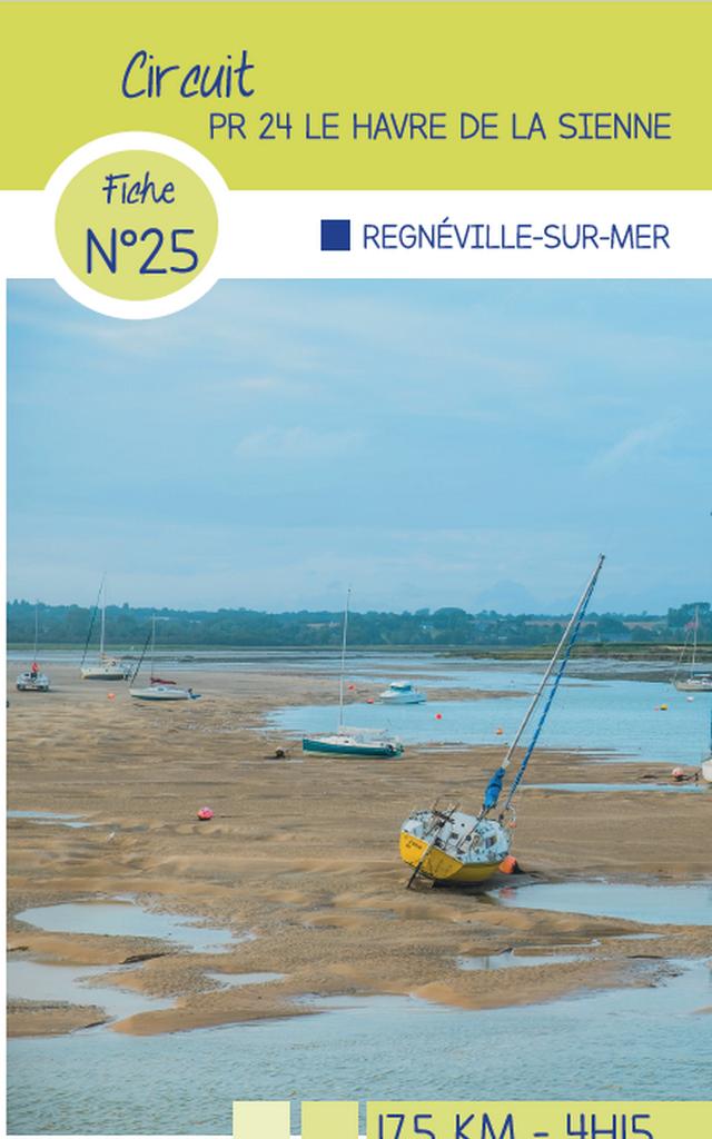 Circuit 25 Regneville sur Mer circuit de randonnée de coutances tourisme