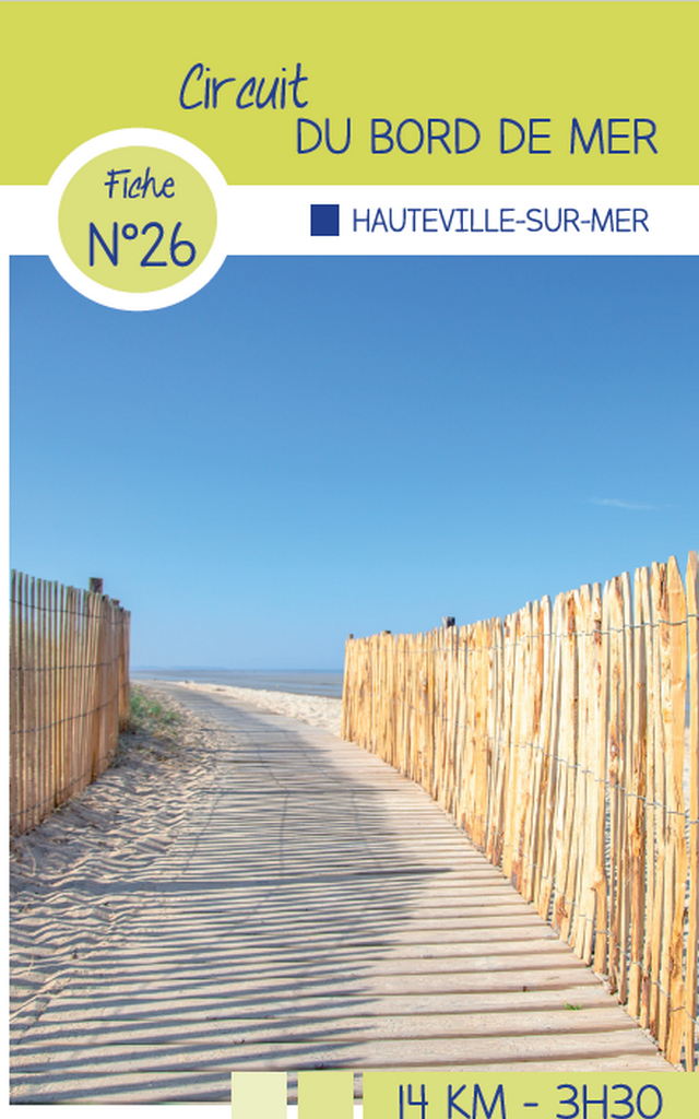 Circuit 26 Hauteville sur mer randonnées de Coutances Tourisme