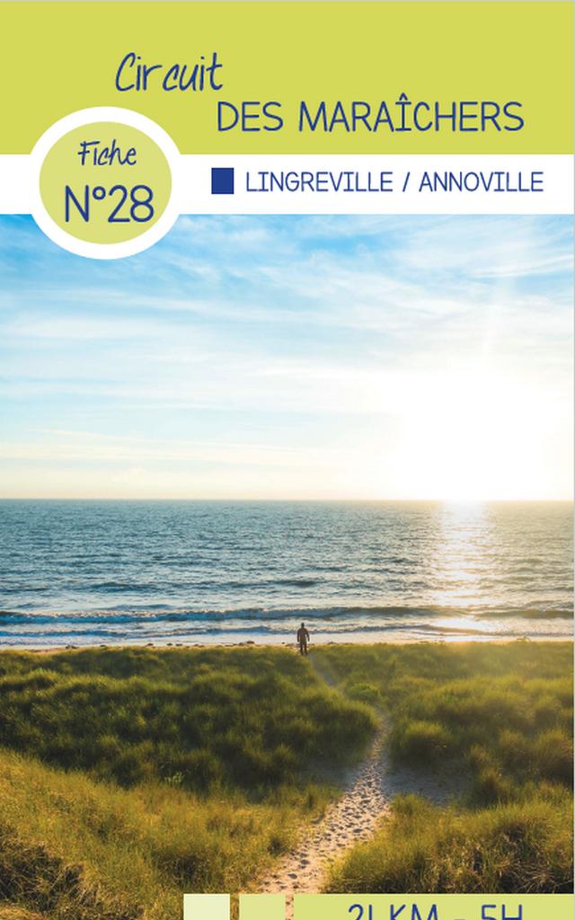 Circuit 28 Lingreville des randonnées de Coutances Tourisme