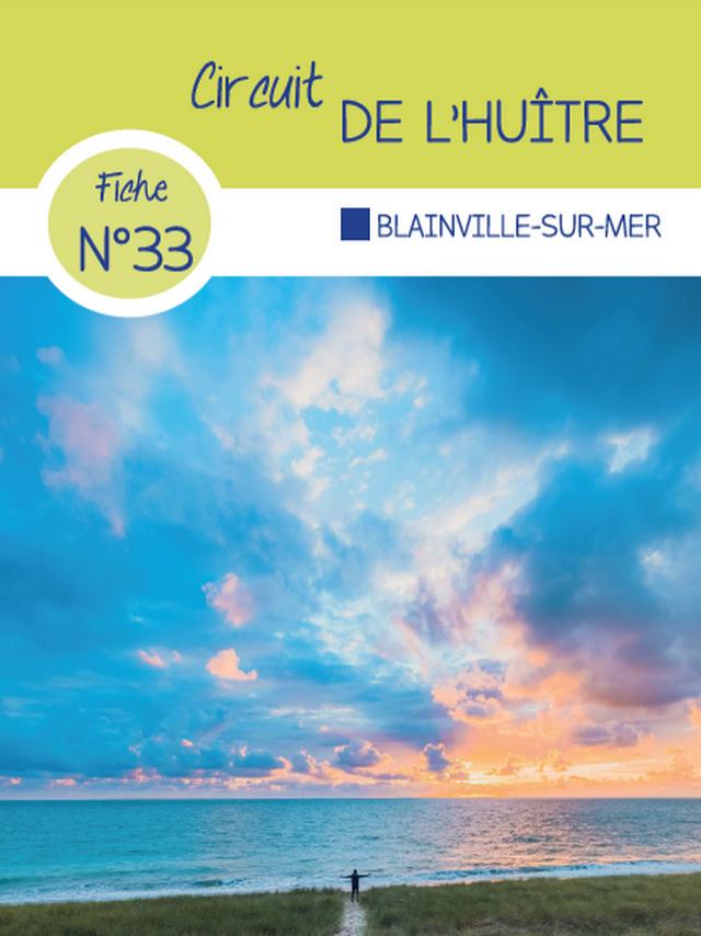 Circuit 33 Blainville-sur-Mer des randonnées de Coutances Tourisme