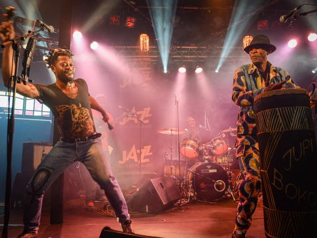 Jupiter & Okwess International au festival jazz sous les pommiers de Coutances
