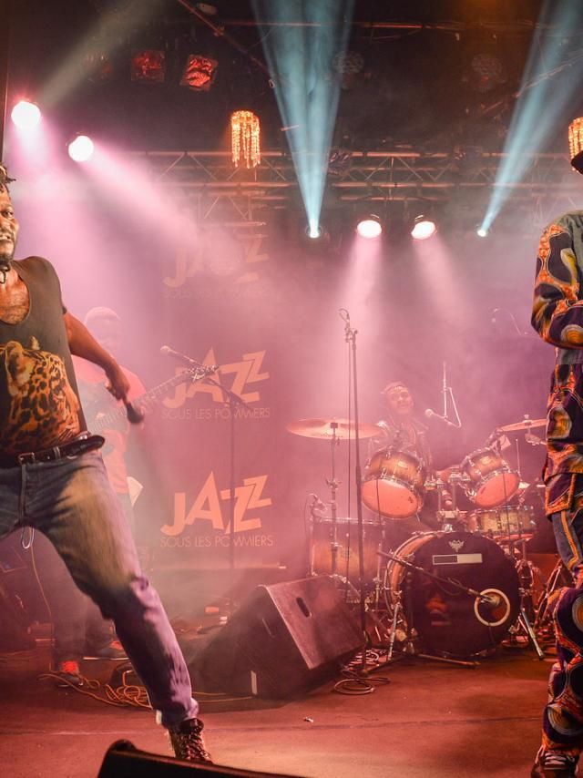 Jupiter & Okwess International au festival jazz sous les pommiers de Coutances