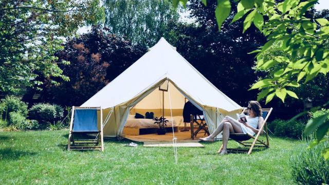 Lodges Jazz Sous Les Pommiers proposées par Coutances tourisme