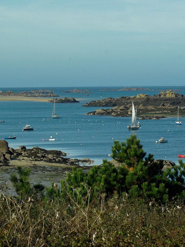 Chausey Normandie Manche