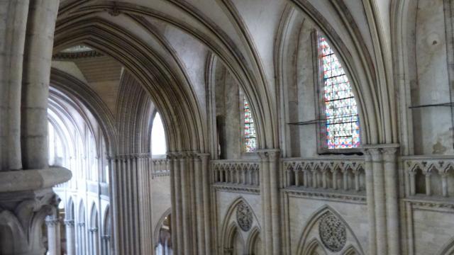 Parties hautes de la cathédrale de Coutances