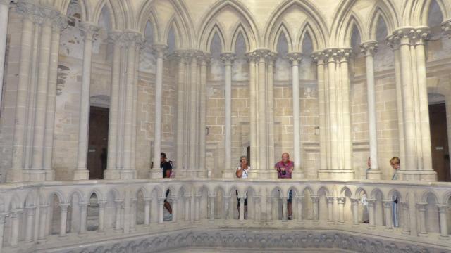 Tour lanterne visite des parties hautes de la cathédrale de coutances