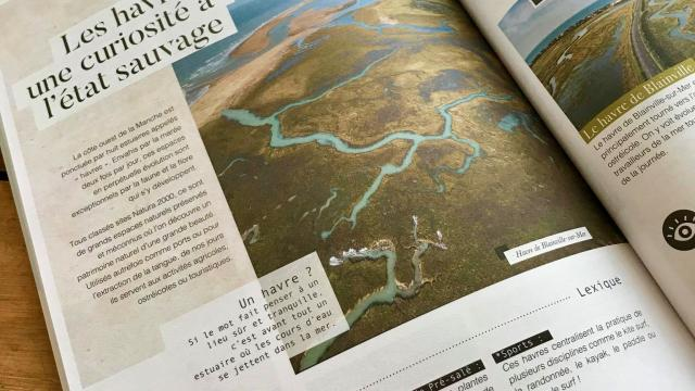 Page du magazine de Coutances Tourisme
