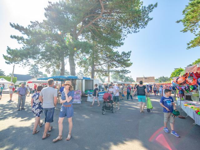 Marché de Hauteville-sur-Mer