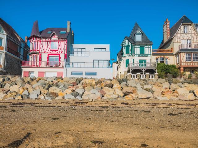 Station Balnéaire D'agon Coutainville Dans La Manche En Normandie