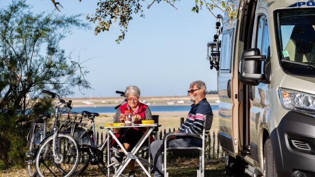 Aires de stationnement en camping-car