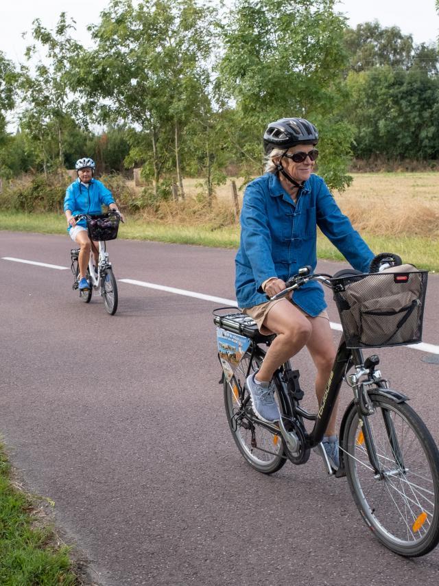 Sortie à vélo sur les routes de Coutances mer et bocage