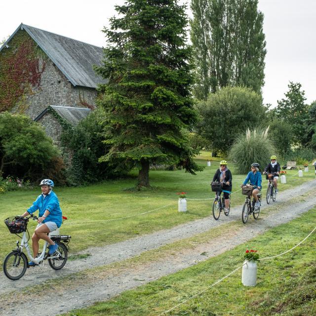Sortie en vélo électrique avec cycle and co