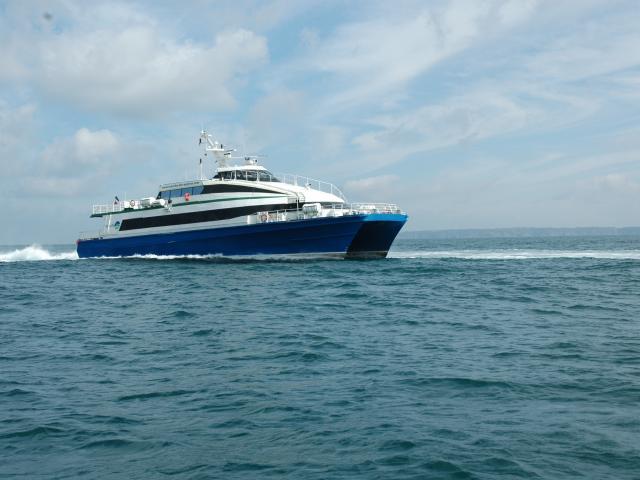 Navettes de manche iles express vers les îles anglo normandes