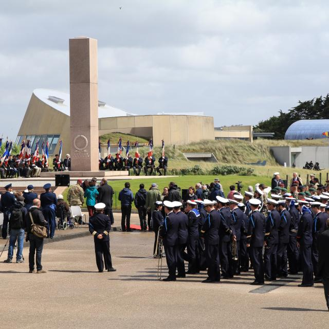 73e Anniversaire Dday Ceremonie Utah Beach