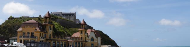 Casino de Granville et plage