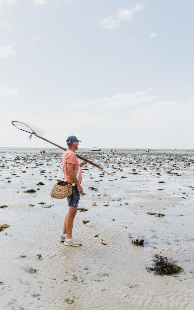 Pêche à pied à Agon-Coutainville