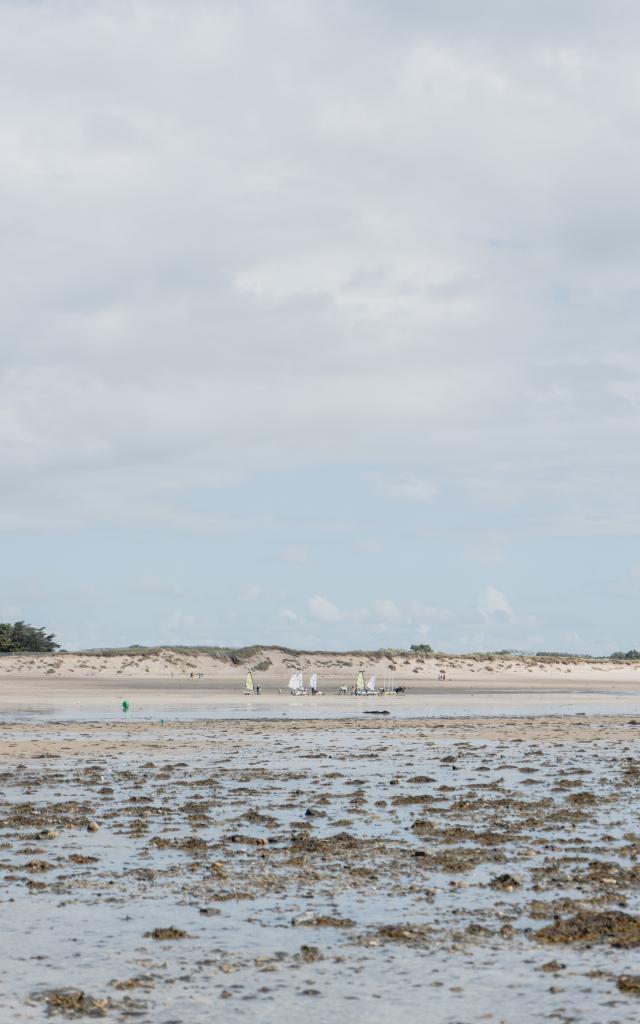 Aymeric Marée basse à Agon-Coutainville