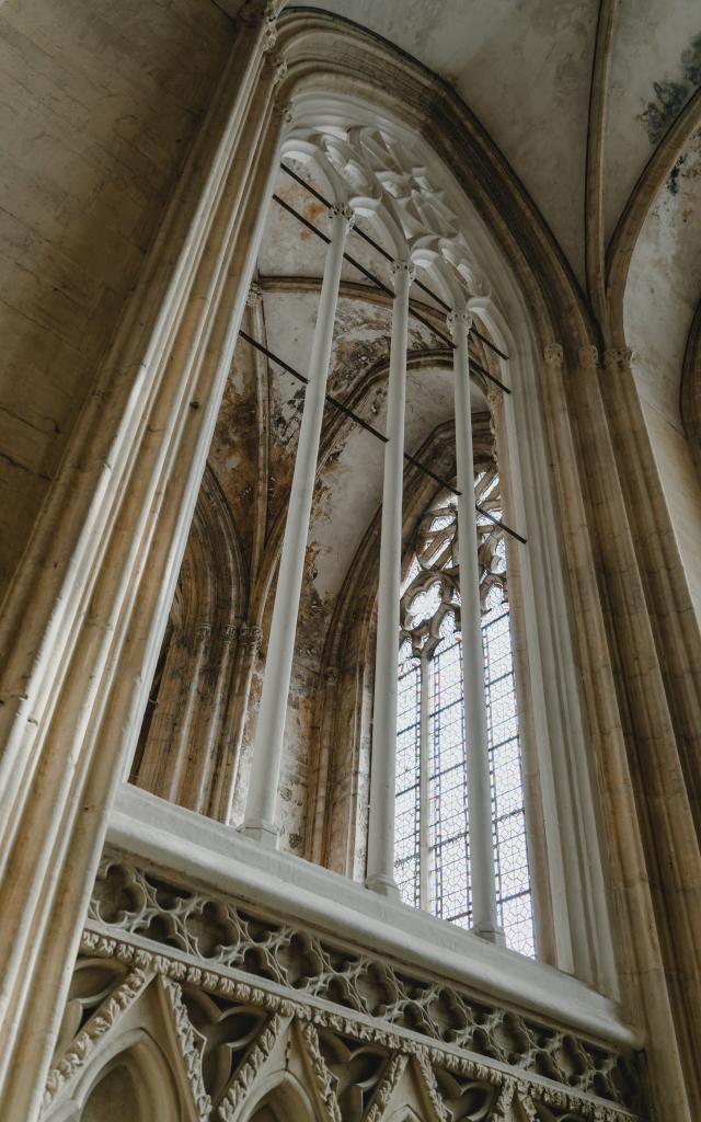 AymericDétails de la cathedrale de coutances Picot Reportage2020 Coutances 03349