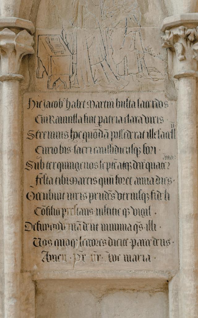 Détails de la cathédrale de Coutances