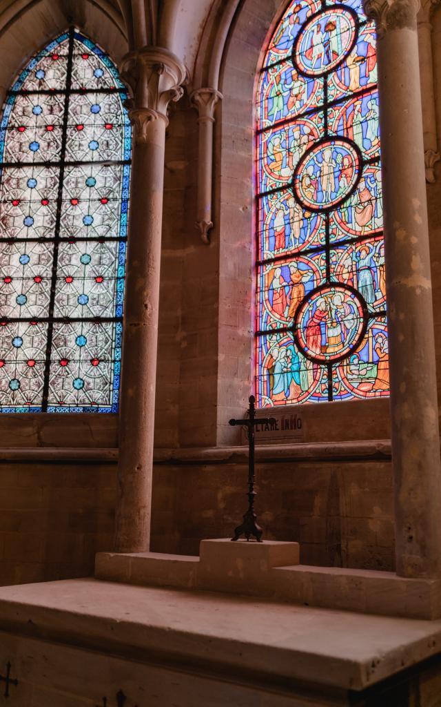 chapelle de la cathédrale de coutances