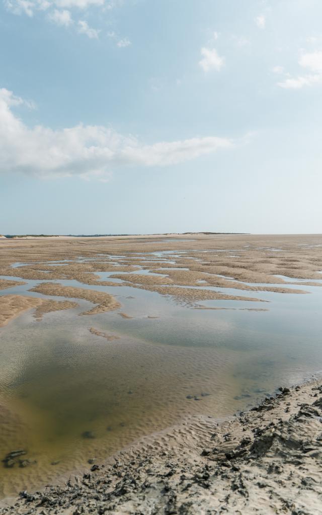Havre de la Vanlée à marée basse