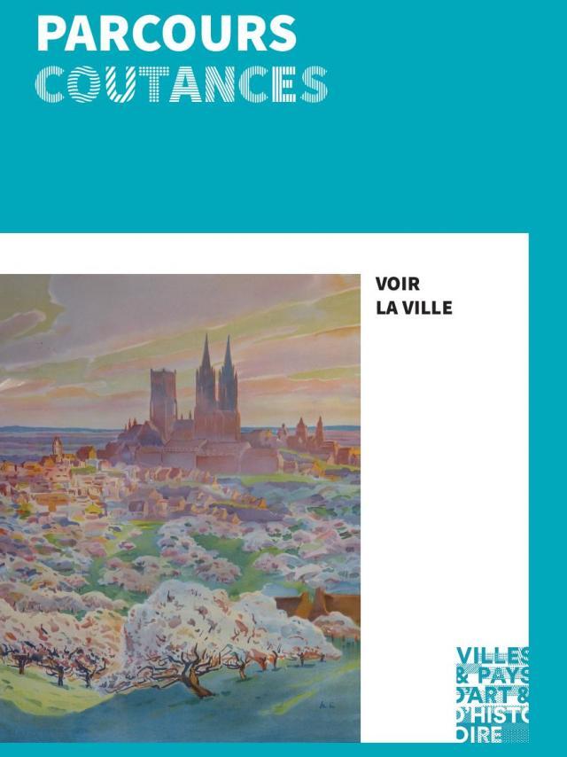 COuverture de la brochure Coutances du pays d'art et d'histoire du Coutançais