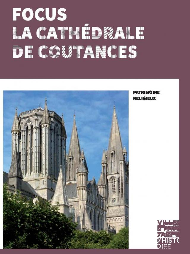 couverture de la Brochure sur la cathédrale de Coutances du pays d'art et d'histoire du Coutançais