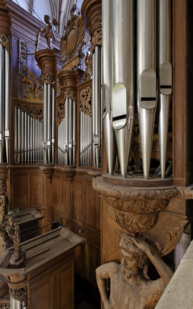 Orgue de la cathédrale de Coutances