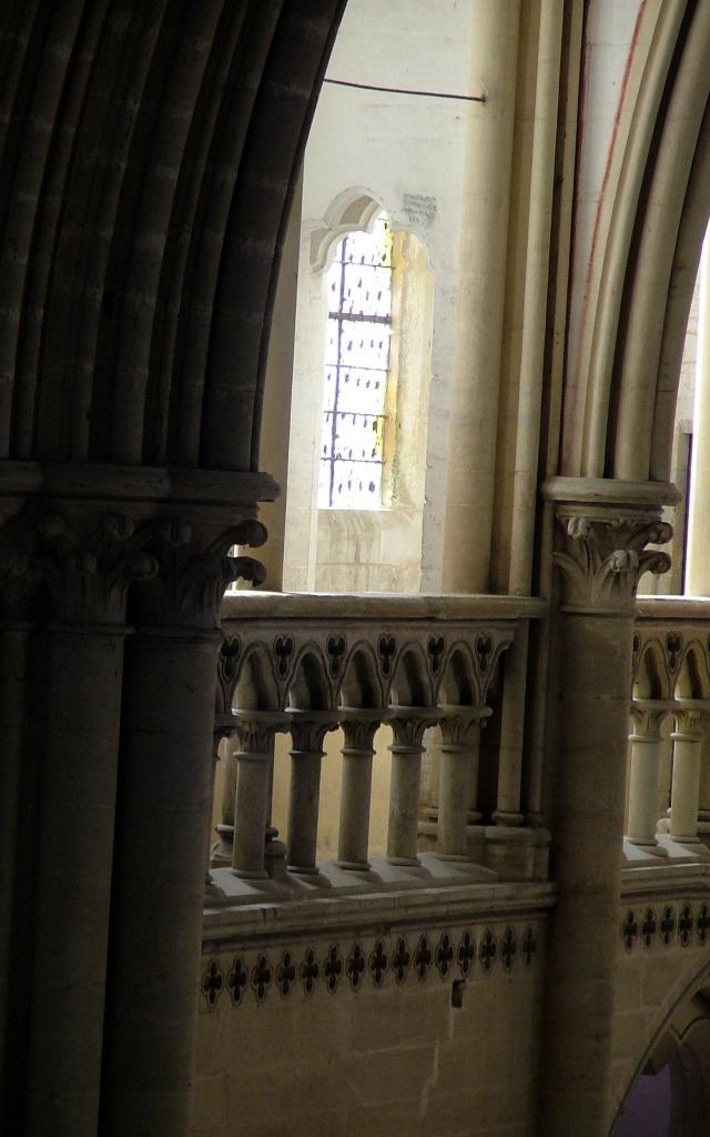 Visite des parties hautes de la cathédrale de coutances
