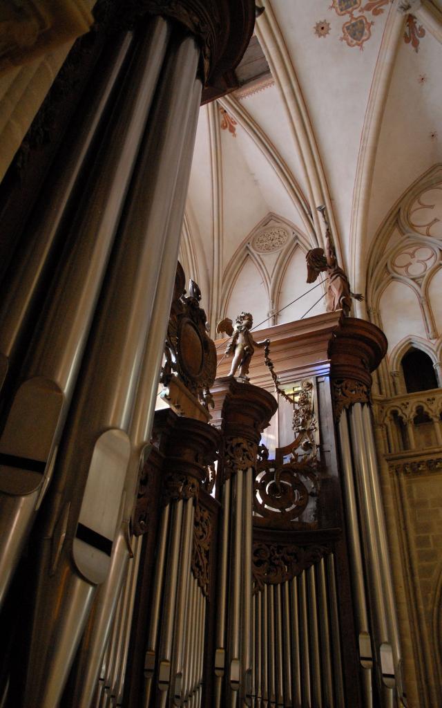 Cathédrale Orgue Eric Quesnel 2007