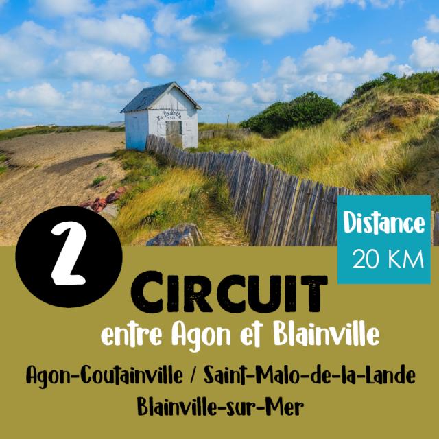 Circuit N°2 Vélo De Coutances Tourisme