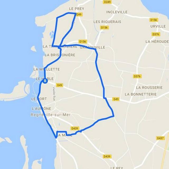 Circuit N°4 de Coutances Tourisme