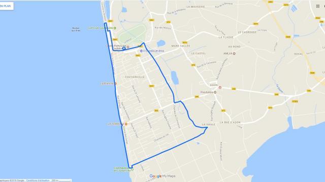Circuit Running N°2 proposé par Coutances Tourisme