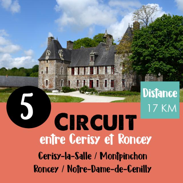 Circuit Vélo N°5 De Coutances Tourisme