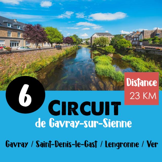 Circuit Vélo N°6 De Coutances Tourisme