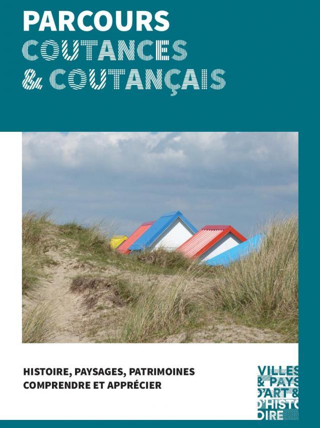 Couverture de la Brochure de découverte du Coutanaçais par le pays d'art et d'histoire du Coutançais