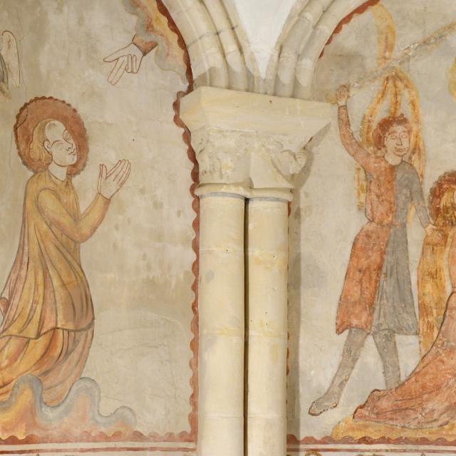 CYcle de Sainte barbe à l'église de savigny